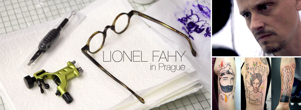 LIONEL FAHY in Prague